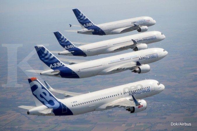 Airbus catatkan rekor penjualan mencapai 718 unit pesawat sepanjang 2017