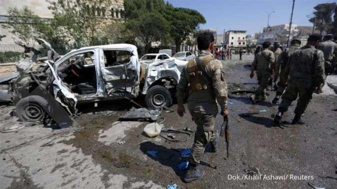 Pipa Gas Arab meledak, wilayah Suriah gelap gulita