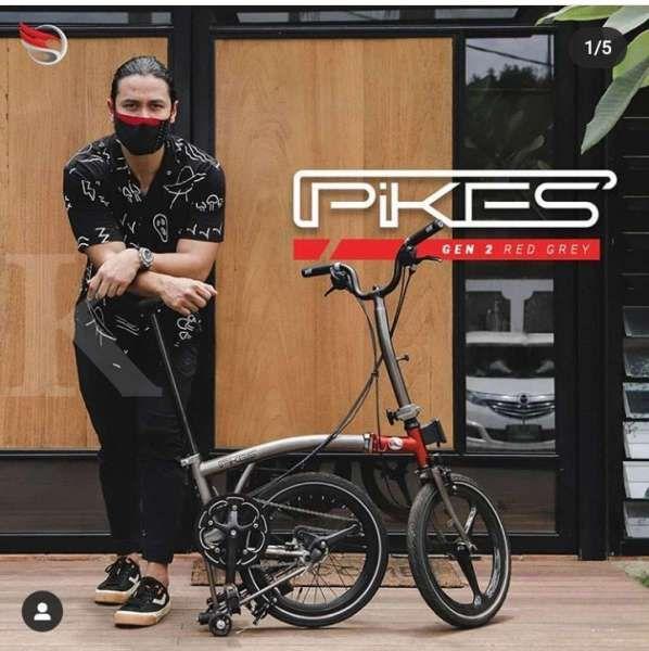 Baru, harga sepeda lipat Element Pikes Gen 2 x Chico Jericho bikin pusing