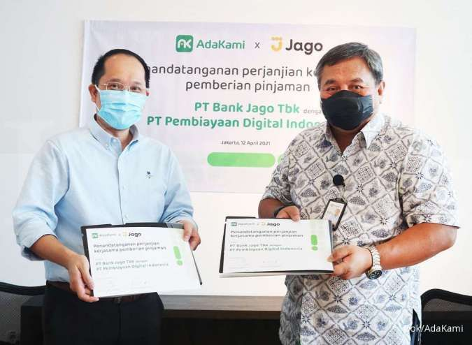 Bank Jago salurkan kredit Rp 100 miliar lewat P2P lending AdaKami