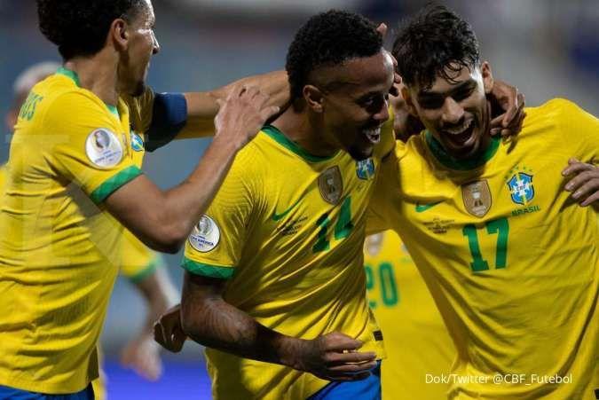 Brasil vs Peru di Semifinal Copa America 2021: Kans La Rojiblanca balas skuad Selecao