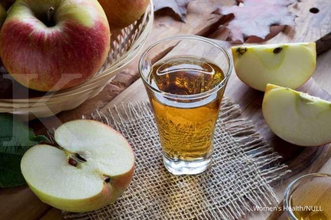 7 Manfaat cuka apel, dari menghilangkan ketombe sampai plak pada gigi