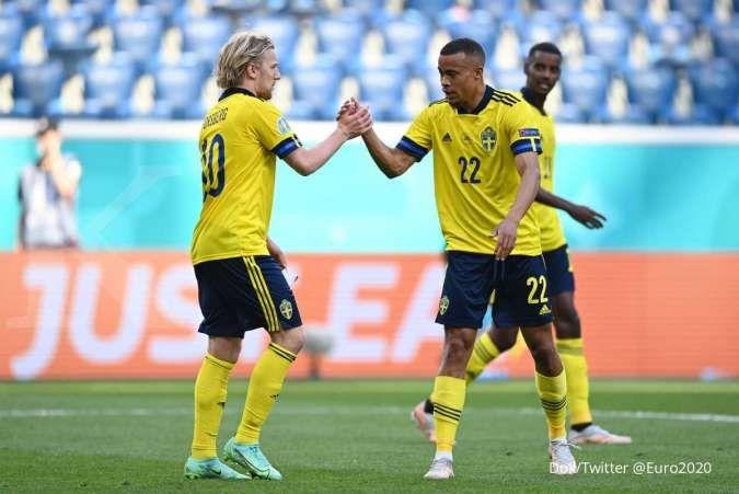 Jadwal Euro 2020 Swedia vs Polandia: The Eagles wajib poin penuh kontra The Blagult