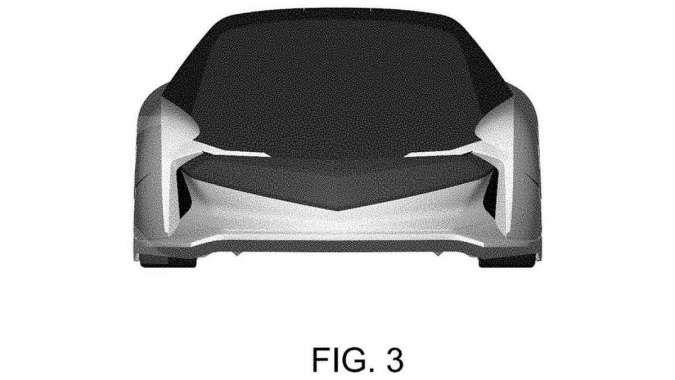Gambar Paten Mobil Honda berjenis Grand Tourer