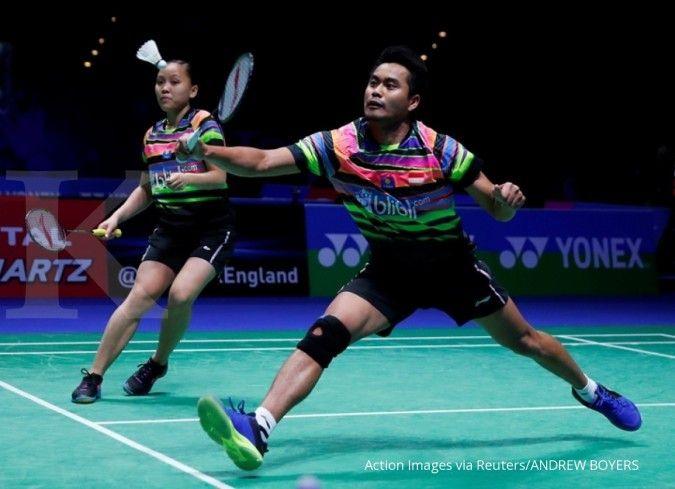 Pasangan Tontowi /Winny terhenti di babak perempat final Blibli Indonesia Open 2019
