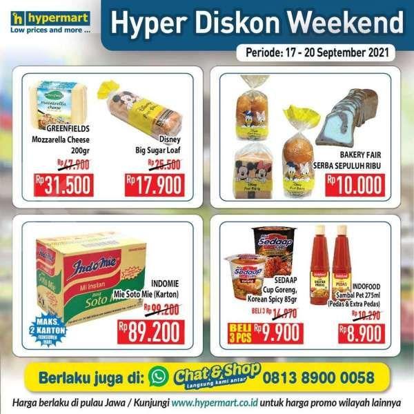 Promo Hypermat Hyper Diskon Weekend 17-20 September 2021