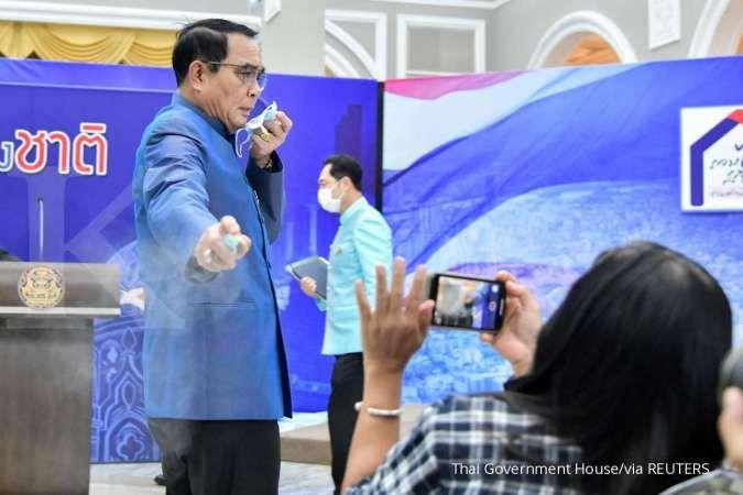 Perdana Menteri Thailand semprot wartawan dengan hand sanitizer, ada apa?