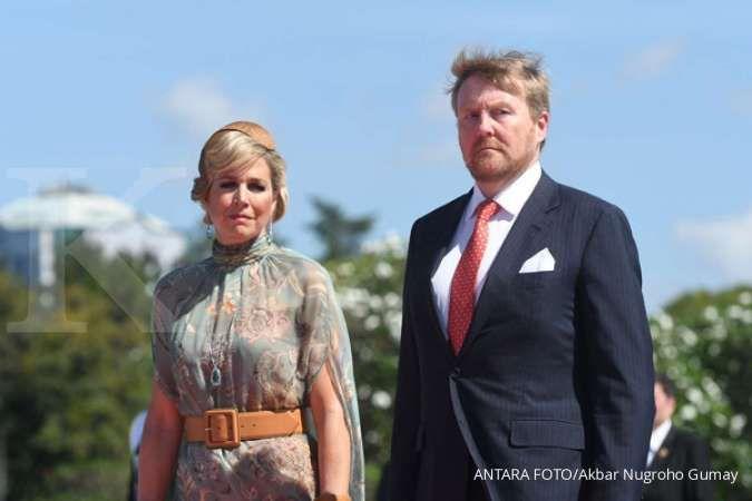 Raja Belanda Willem Alexander dan Ratu Maxima kunjungi Keraton Yogyakarta