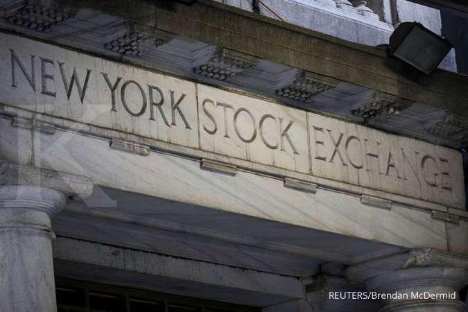 Dow Jones dan S&P 500 melorot di tengah lonjakan kasus corona, Nasdaq rekor lagi