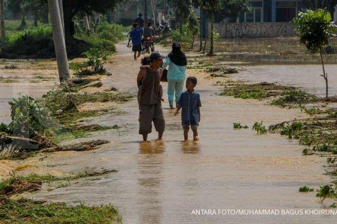 Ilustrasi banjir. ANTARA FOTO/Muhammad Bagus Khoirunas/nz