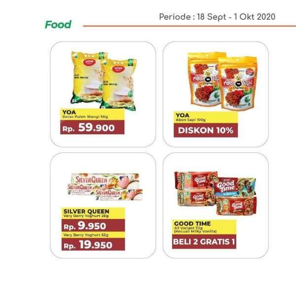 Promo Yogya Supermarket hari ini 30 September 2020, serba hemat!