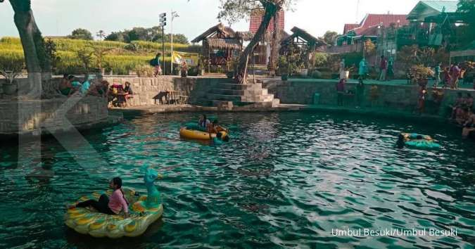 Umbul Besuki Klaten, perpaduan sumber air dan area hijau khas pedesaan