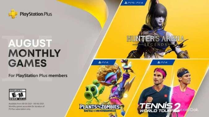 Inilah 3 game gratis PS Plus Agustus 2021, mau main game apa bulan ini?