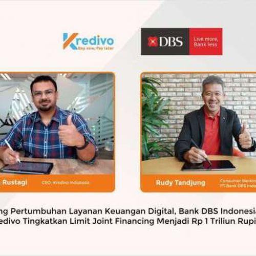 Dorong Pertumbuhan Keuangan Digital, Bank DBS Indonesia & Kredivo Tingkatkan Limit Joint Financing Menjadi Rp 1 triliun