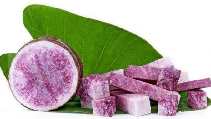5 Manfaat talas ungu untuk kesehatan