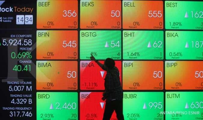 IHSG mager, asing buang saham BBCA dan BBRI hingga ratusan miliar (17/2)