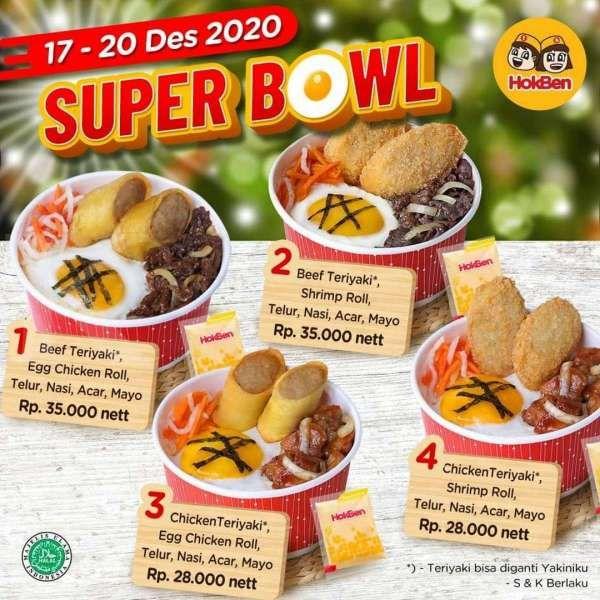 Menu Hemat Rp 28 000 Di Promo Hokben Periode 17 20 Desember 2020