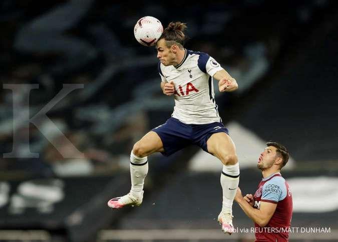 Pemain Tottenham Hotspur Gareth Bale