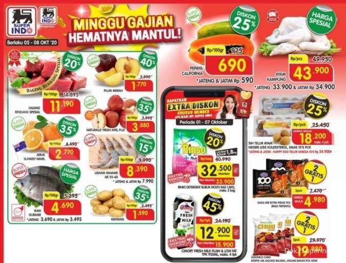 Promo Superindo hari ini (7/10) daging rendang Rp 11.190 per ons!