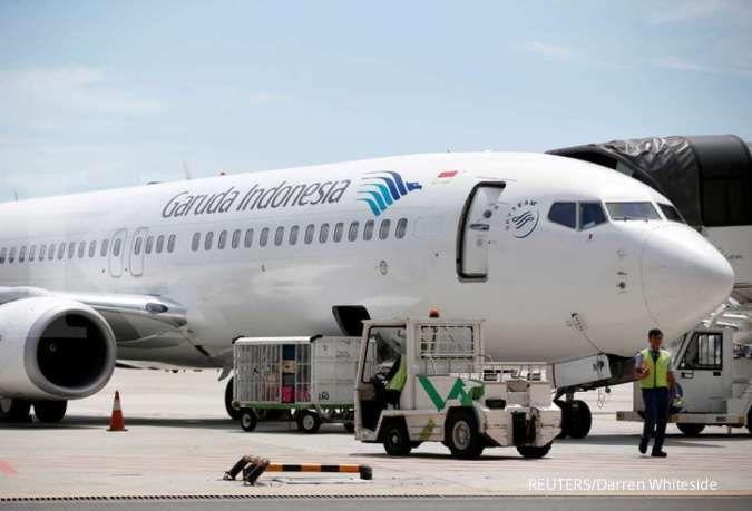 Harga tiket pesawat Garuda naik di periode libur akhir tahun? Ini kata manajemen