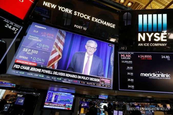 Wall Street menguat, investor menangkap sinyal The Fed segera melakukan tapering off