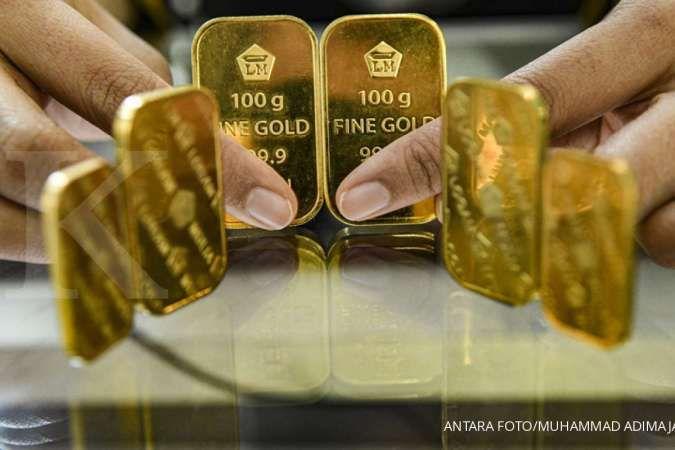 Harga emas Antam turun 5% sepekan, potensi loss pembeli 11%. Kok bisa?