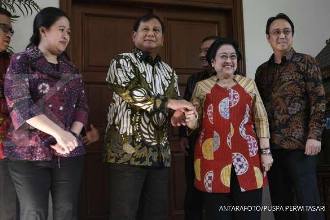 Megawati memberi sambutan di Kongres Luar Biasa Partai Gerindra, ini kata pengamat