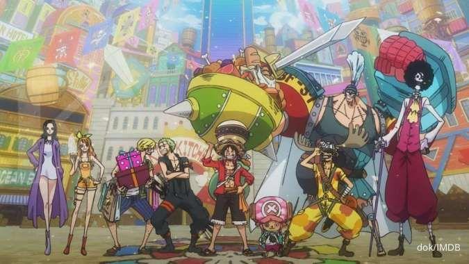 Anime One Piece 941, Sanji dan Zoro menantang Orochi di ibu kota Bunga