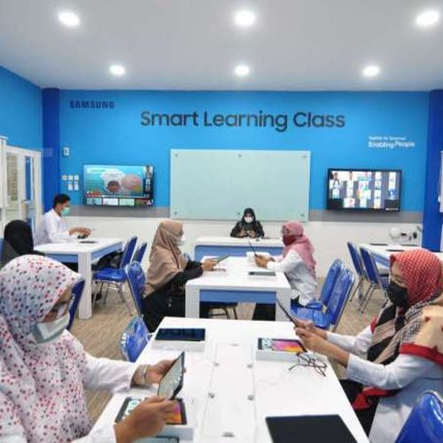 Fasilitas Samsung Smart Learning Class untuk Kota Palu, Dukung Kesiapan Pembelajaran Tatap Muka yang Kondusif