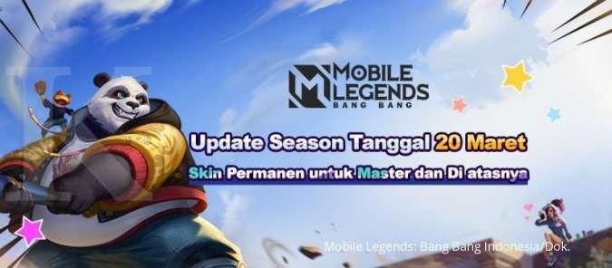 Hadiah skin permanen Mobile Legends Season 19