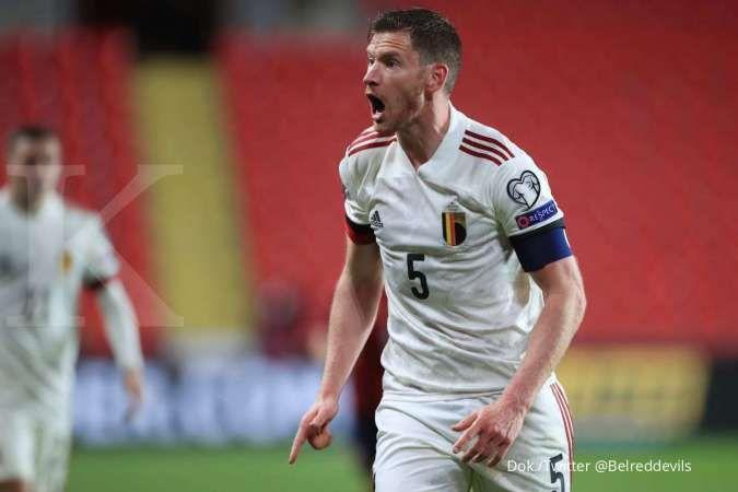 Jelang laga Belgia vs Belarus di Kualifikasi Piala Dunia 2022