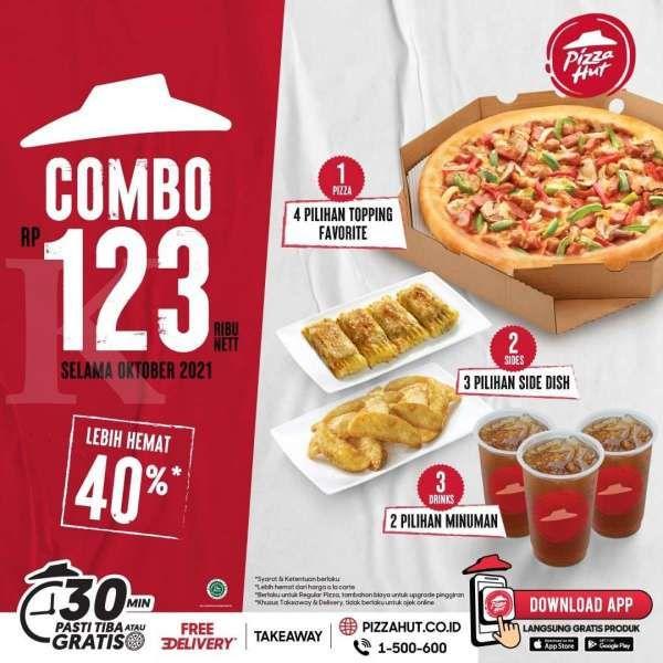 Promo Pizza Hut terbaru 7 Oktober-31 Oktober 2021