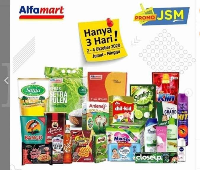 Promo Jsm Alfamart Terbaru Diskonan Weekend 2 4 Oktober 2020