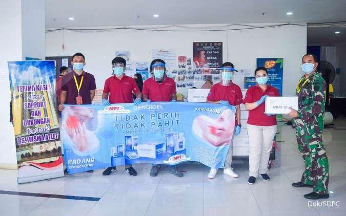 Millennium Pharmacon International (SDPC) donasikan ribuat obat kumur untuk rumah sakit darurat Covid-19