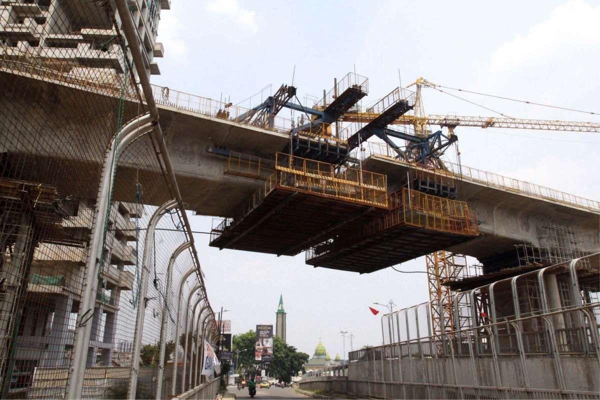 Biaya proyek Kereta Cepat Jakarta-Bandung membengkak