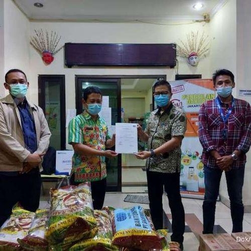 Sucofindo Peduli Sesama untuk Para Korban Banjir di Jakarta