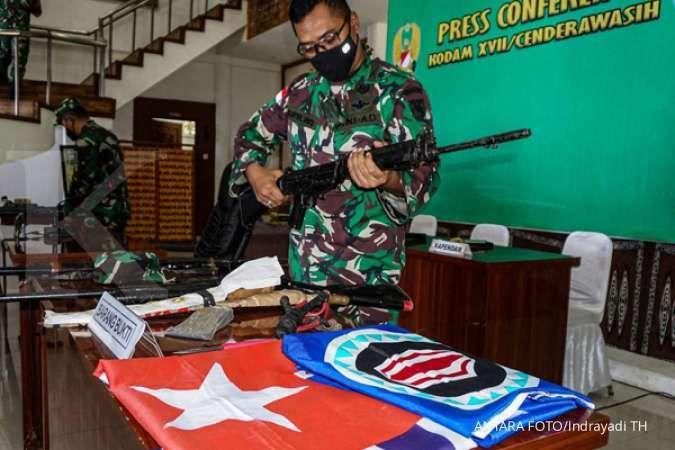 Saat evakuasi jasad suster Gabriela di jurang, anggota TNI-Polri ditembaki KKB