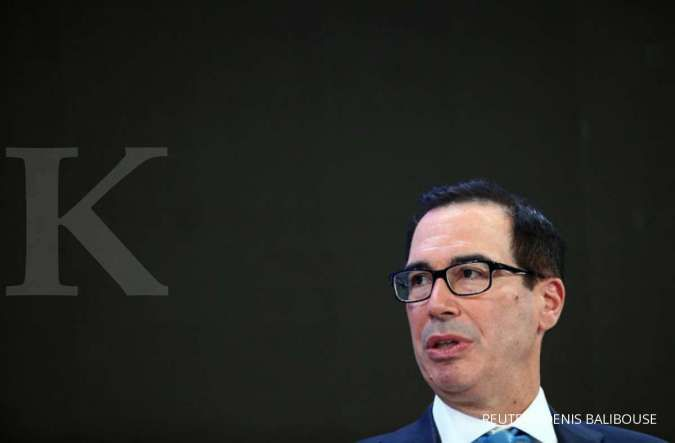 U.S. Treasury Secretary Steven Mnuchin attends a session at the 50th World Economic Forum (WEF) annual meeting in Davos, Switzerland, January 21, 2020. REUTERS/Denis Balibouse