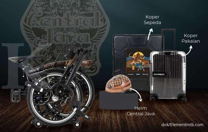Baru, simak harga sepeda lipat Element Pikes Central Java edition yang tampil unik