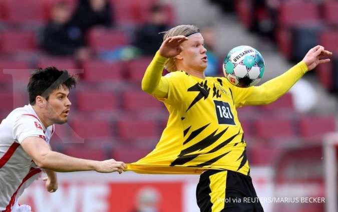 Thomas Tuchel inginkan Erling Haaland dari Borussia Dortmund