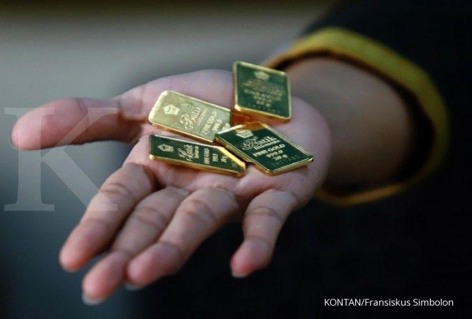 Harga emas Antam naik lagi ke Rp 705.000