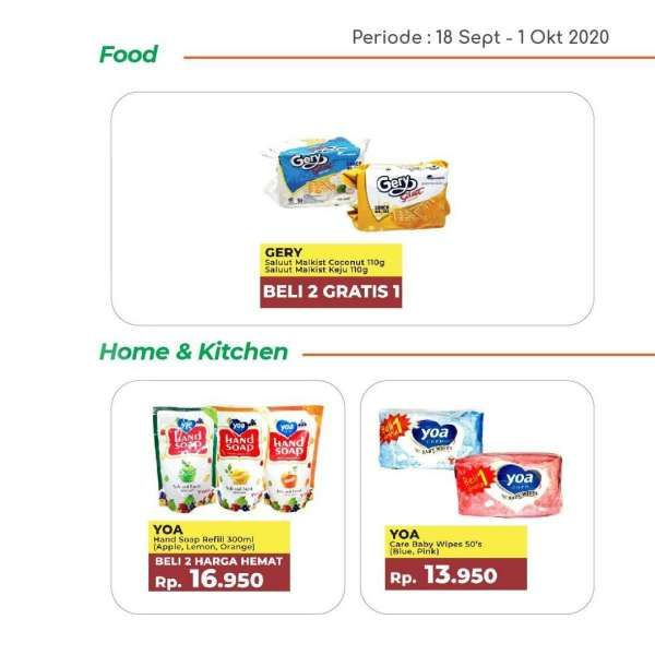Katalog promo Yogya Supermarket hari ini 1 Oktober 2020, harga hemat!
