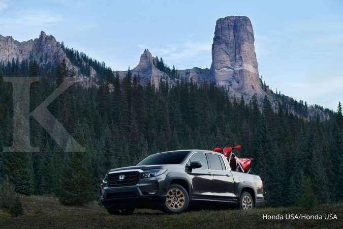 Kian menawan, Honda Ridgline 2021 siap gebrak persaingan mobil pick up dua kabin