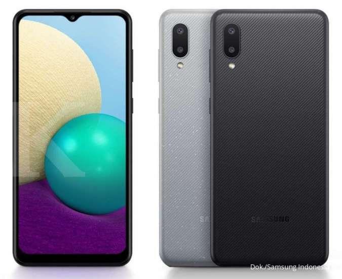 Varian warna Samsung Galaxy A02