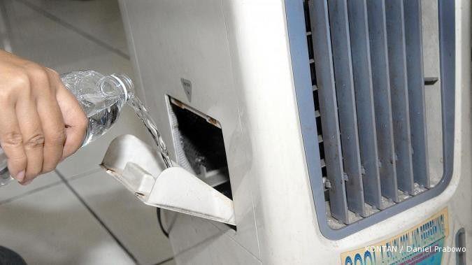 Jangan terlalu lama menyalakan air cooler