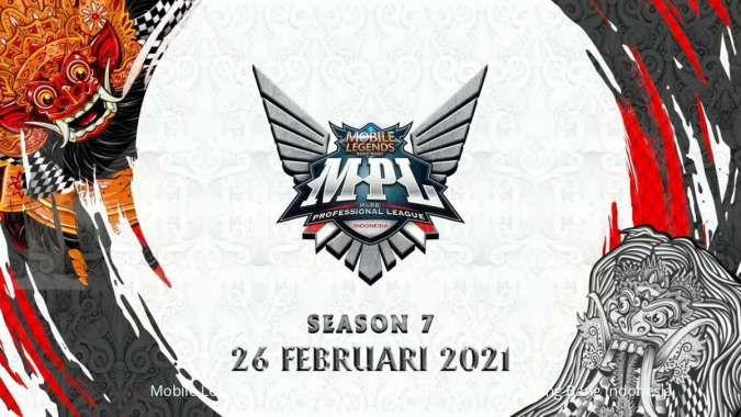 MPL ID Season 7 digelar 26 Februari 2021, ini daftar tim dan roster yang bertanding