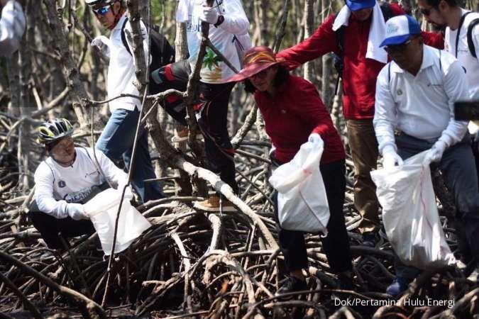 Penanggulangan tumpahan minyak usai, PHE lestarikan pantai Kepulauan Seribu