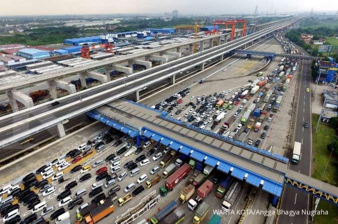 Sebanyak 95.477 kendaraan masuk Jakarta pada H+1 Lebaran