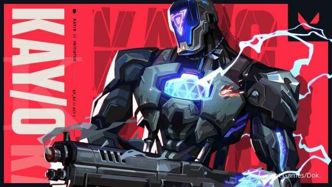 Wujudnya robot, ini dia penampakan agent terbaru Valorant - KAY/O