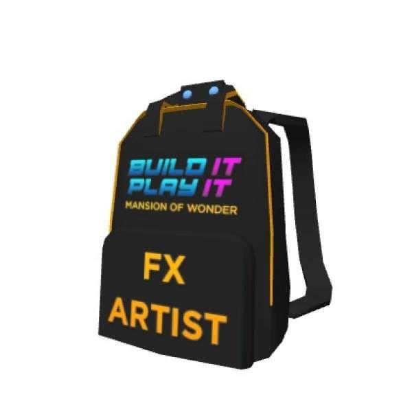 Artist Backpack - Roblox
